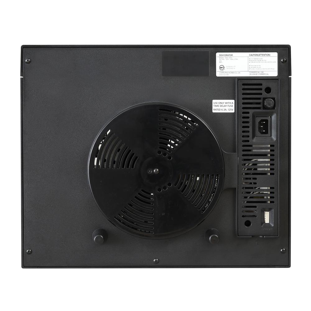 Sedona Supreme SDC-S101 Doerrautomat Rueckansicht mit Anschluessen