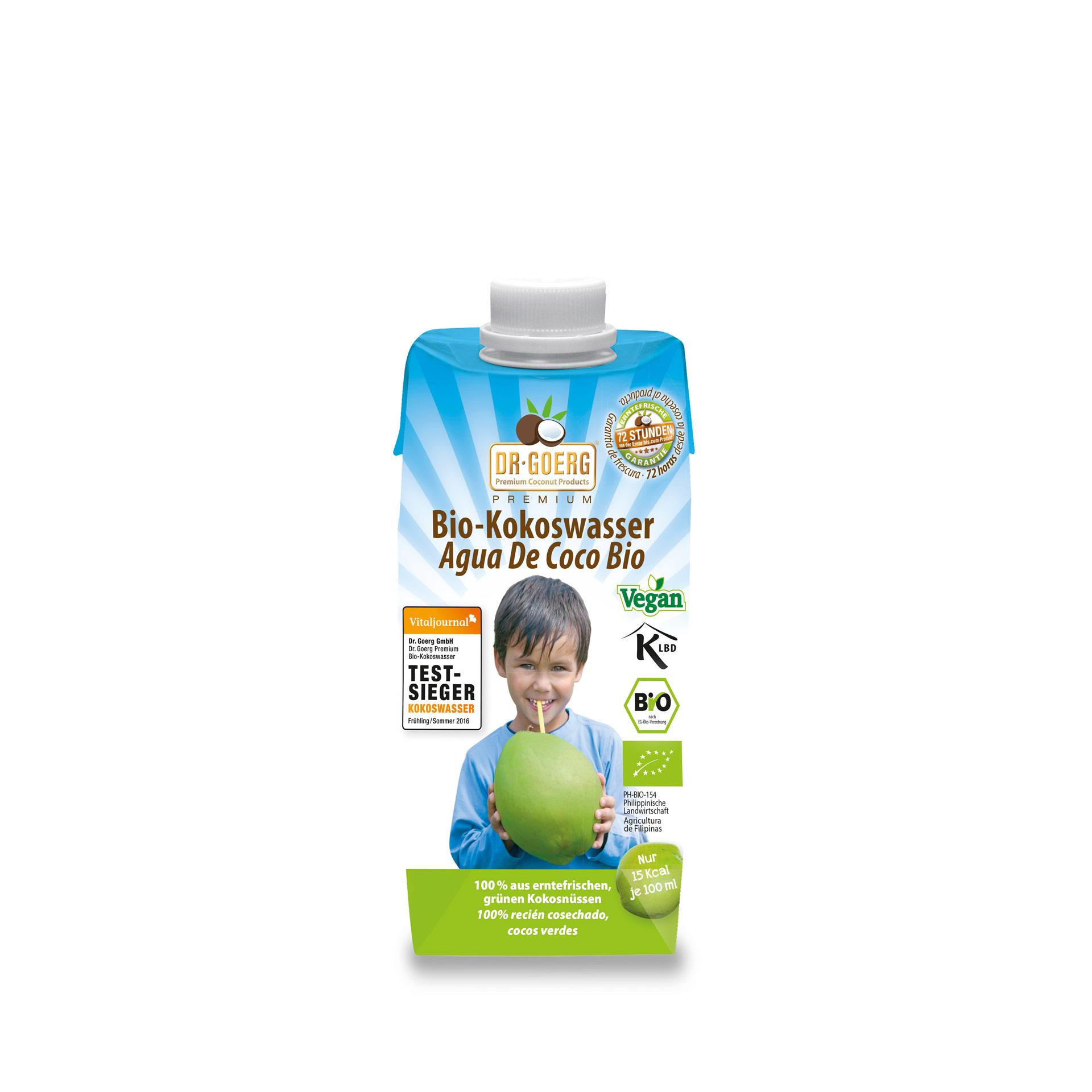 Kokoswasser 12er Pack, 330 ml