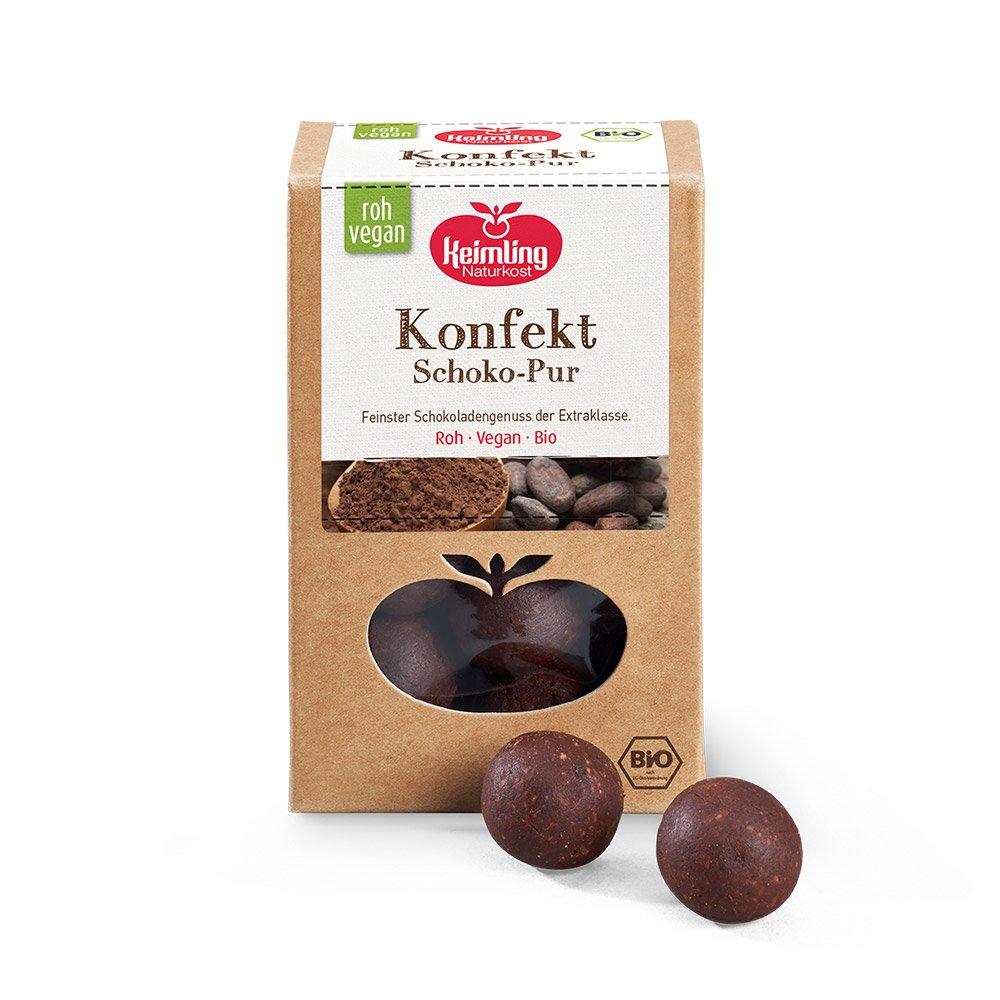 Rohkost-Konfekt-Schokolade-Pur 200g