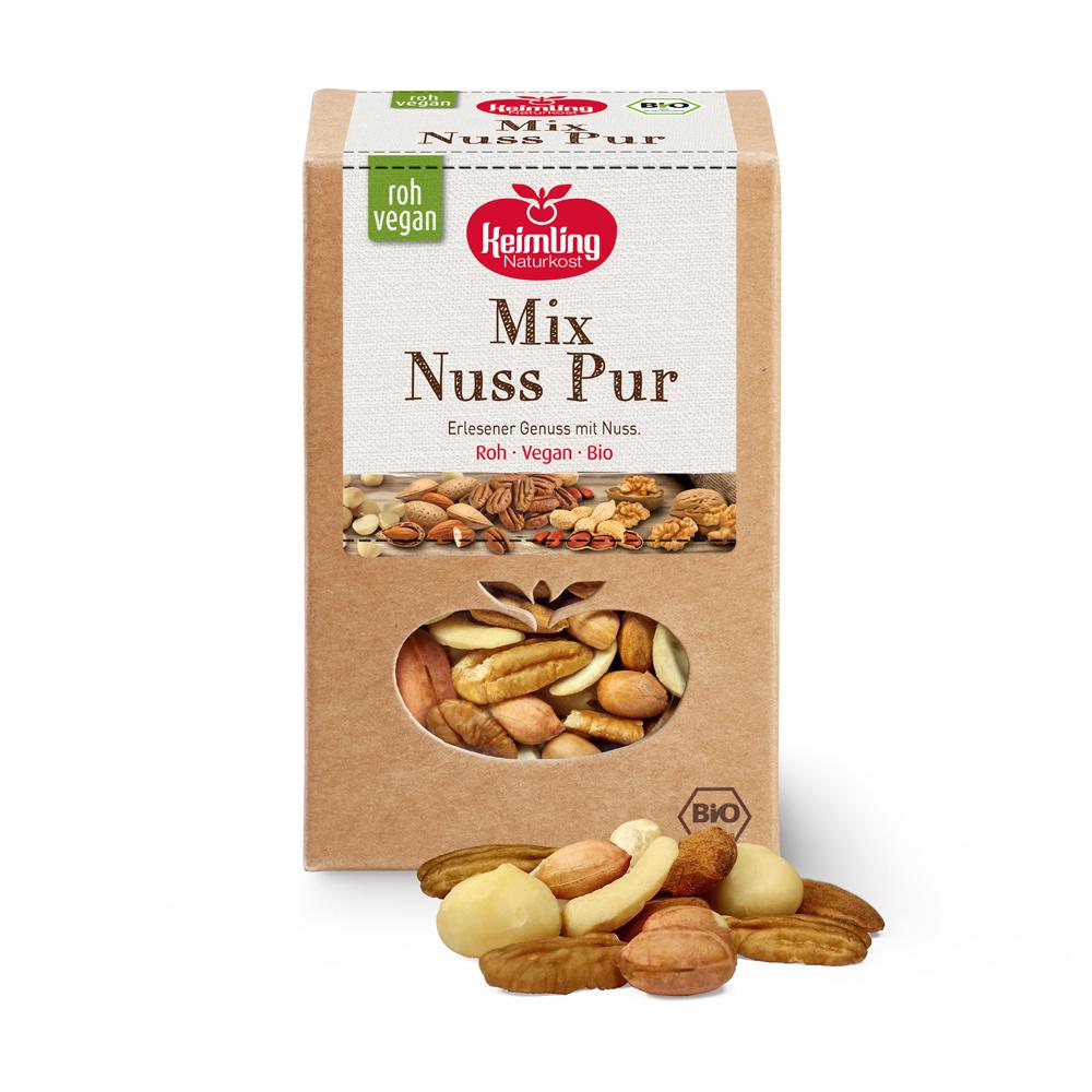 Keimling-Mix-Nuss-Pur
