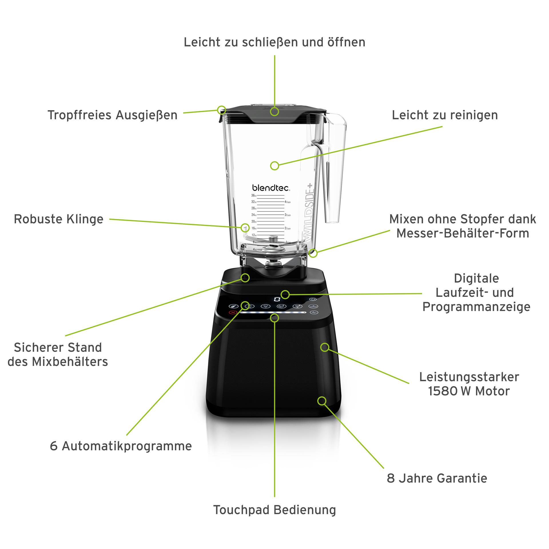 Blendtec Mixer Designer 650 -  Weinrot
