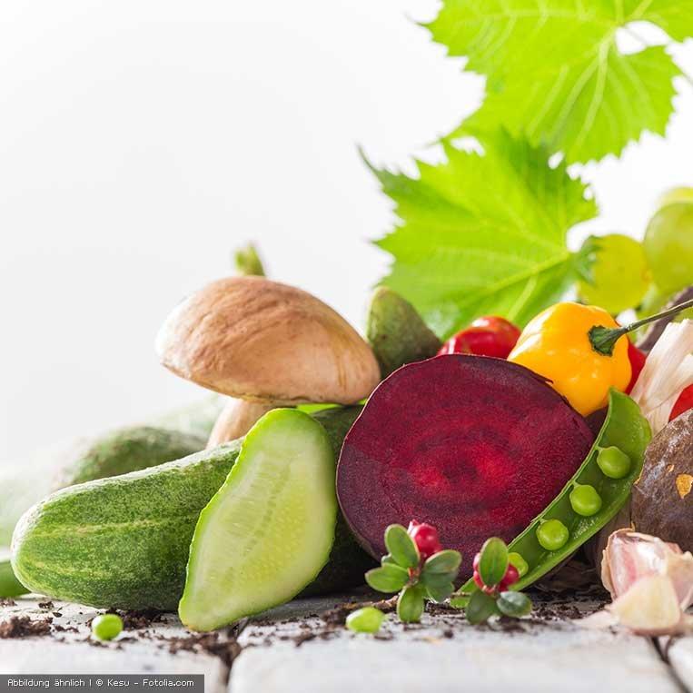 fluessiges Biokonzentrat aus Obst und Gemuese