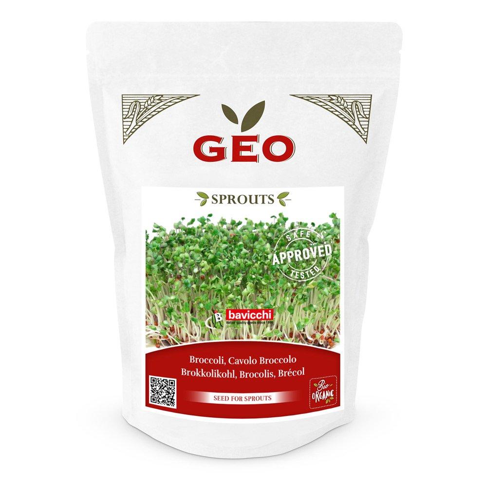 Geo Sprouts Brokkoli Keimsaaten in Verpackung