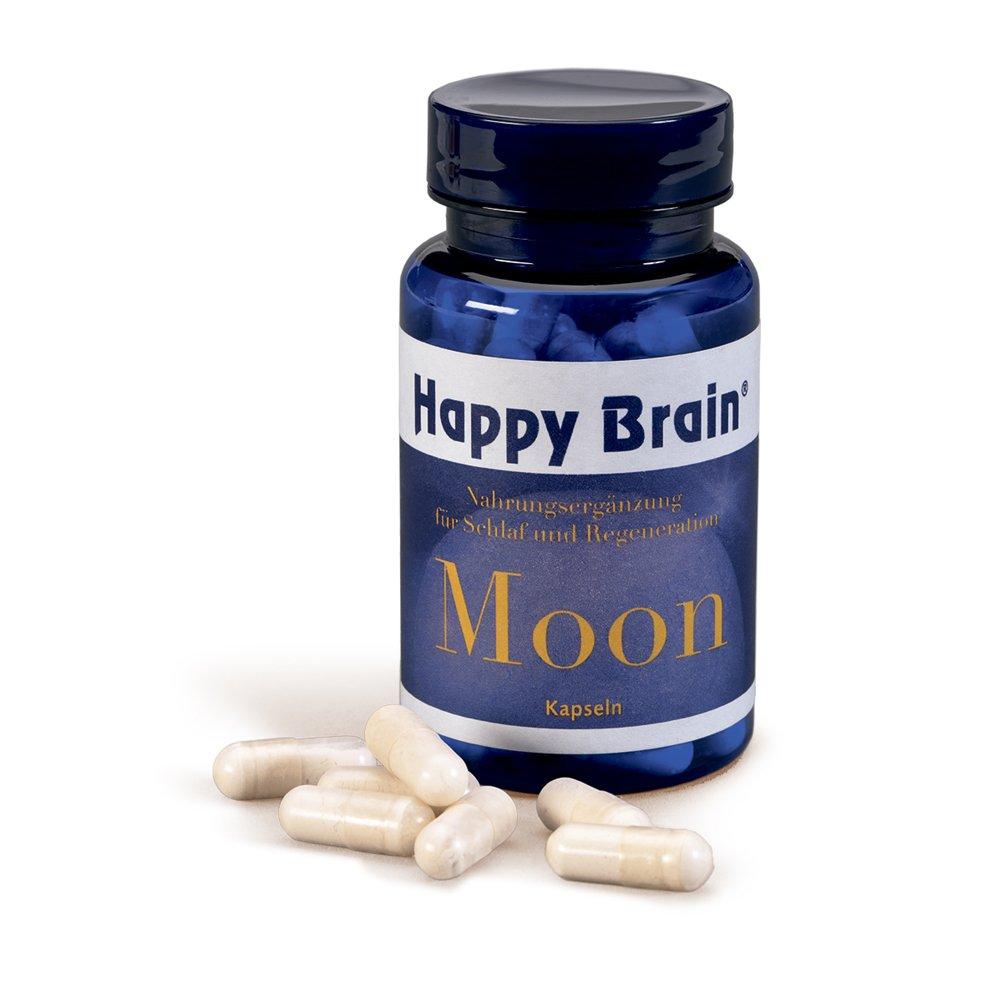 Happy Brain Moon Kapseln im Glas