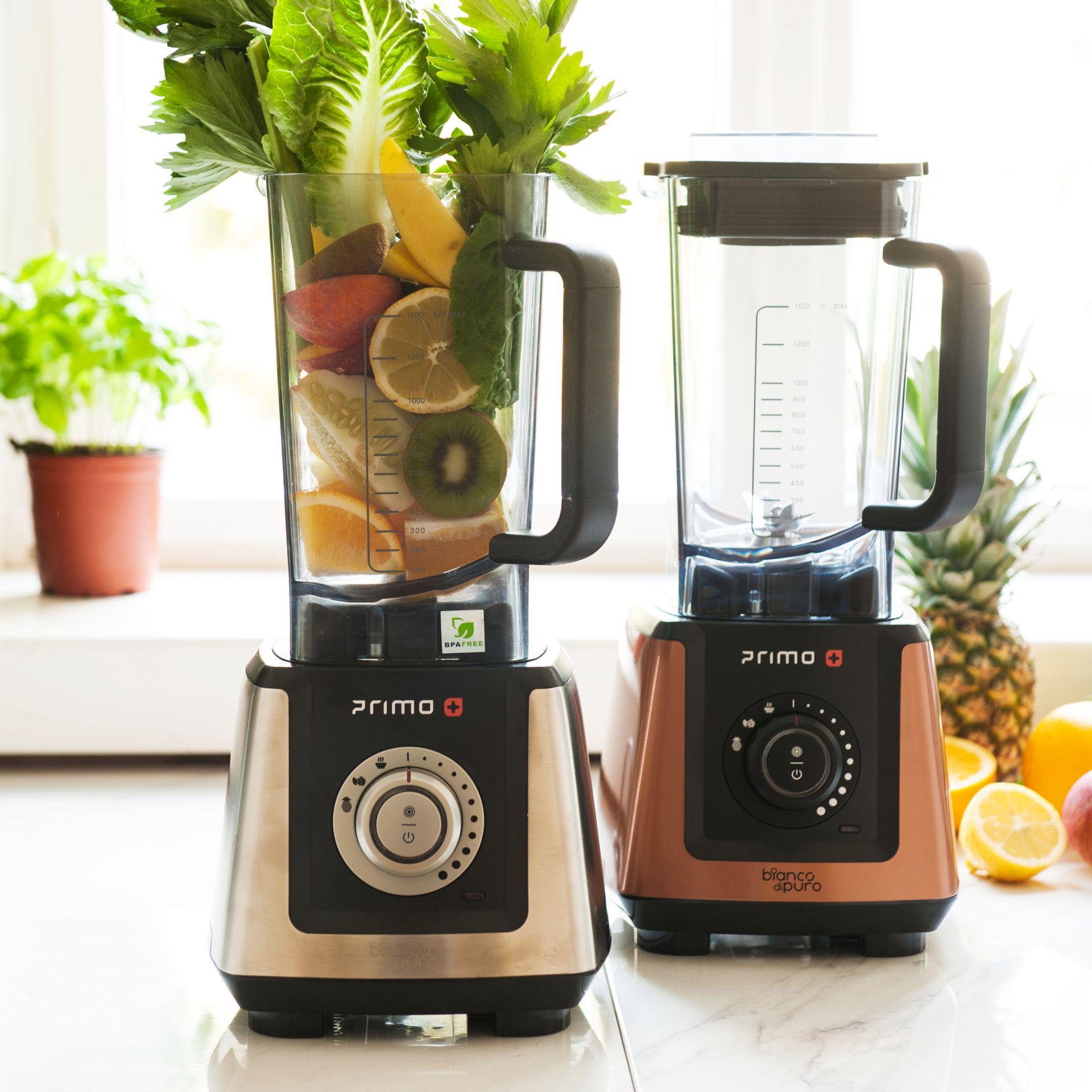 Bianco Primo Plus Mixer mit Obst und Gemuese