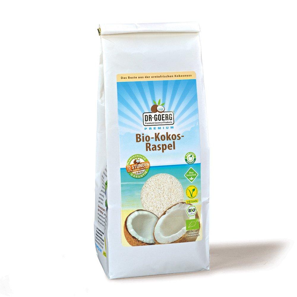 Kokosraspeln fein bio 500 g