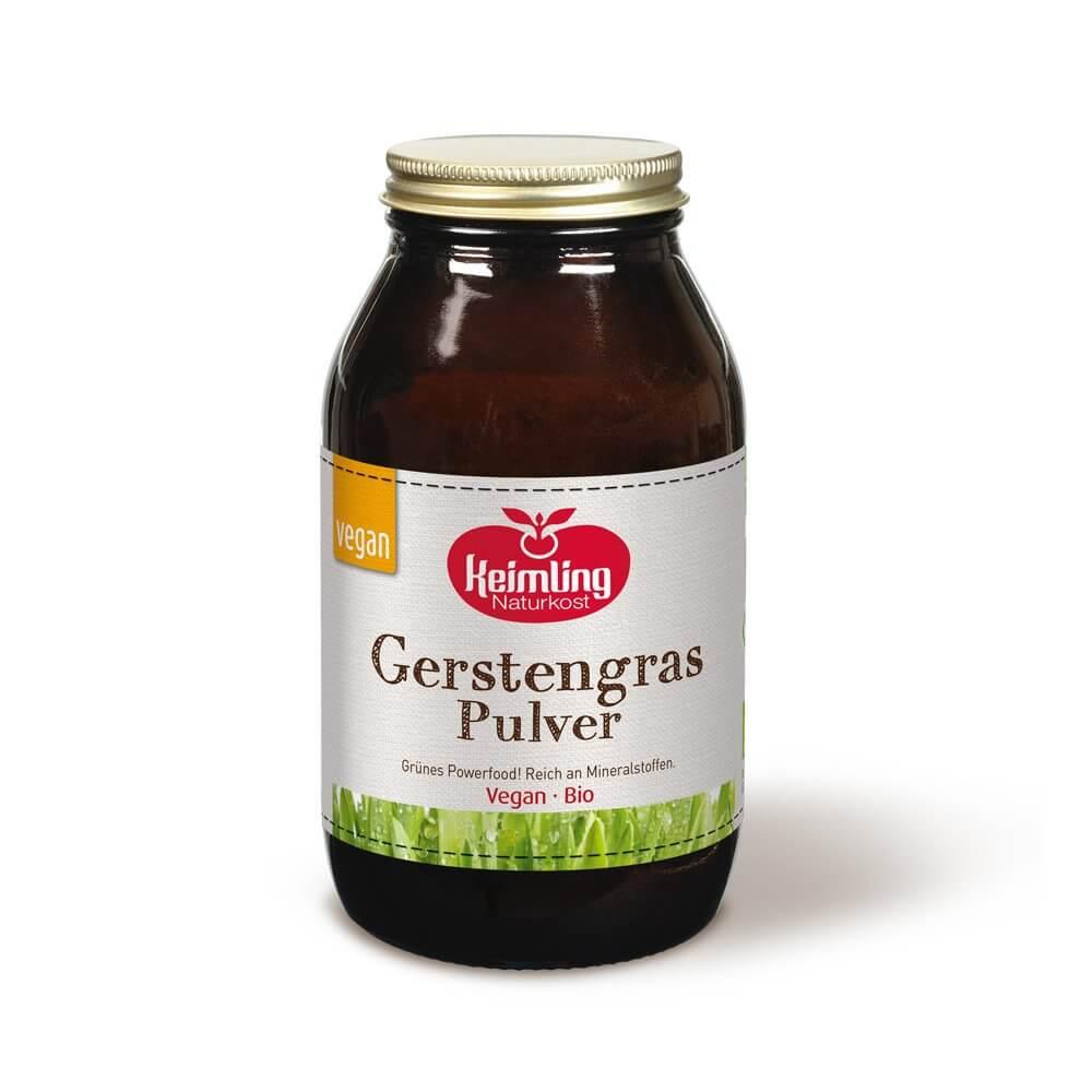 Keimling Bio-Gerstengras-Getreidegraspulver 300 g
