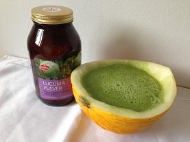 Grüner Smoothie Küchenreste