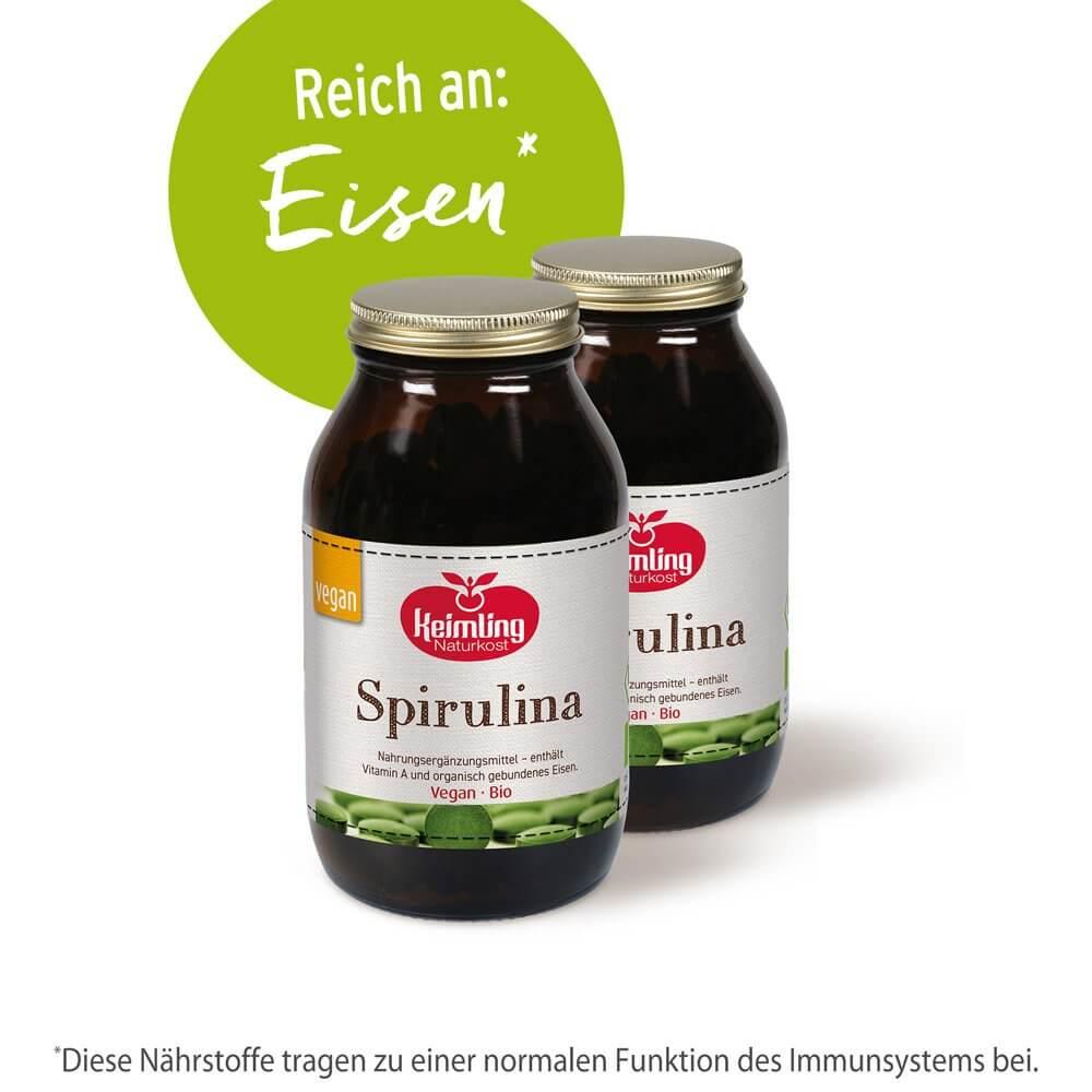 Bio-Spirulina 750 Tabletten