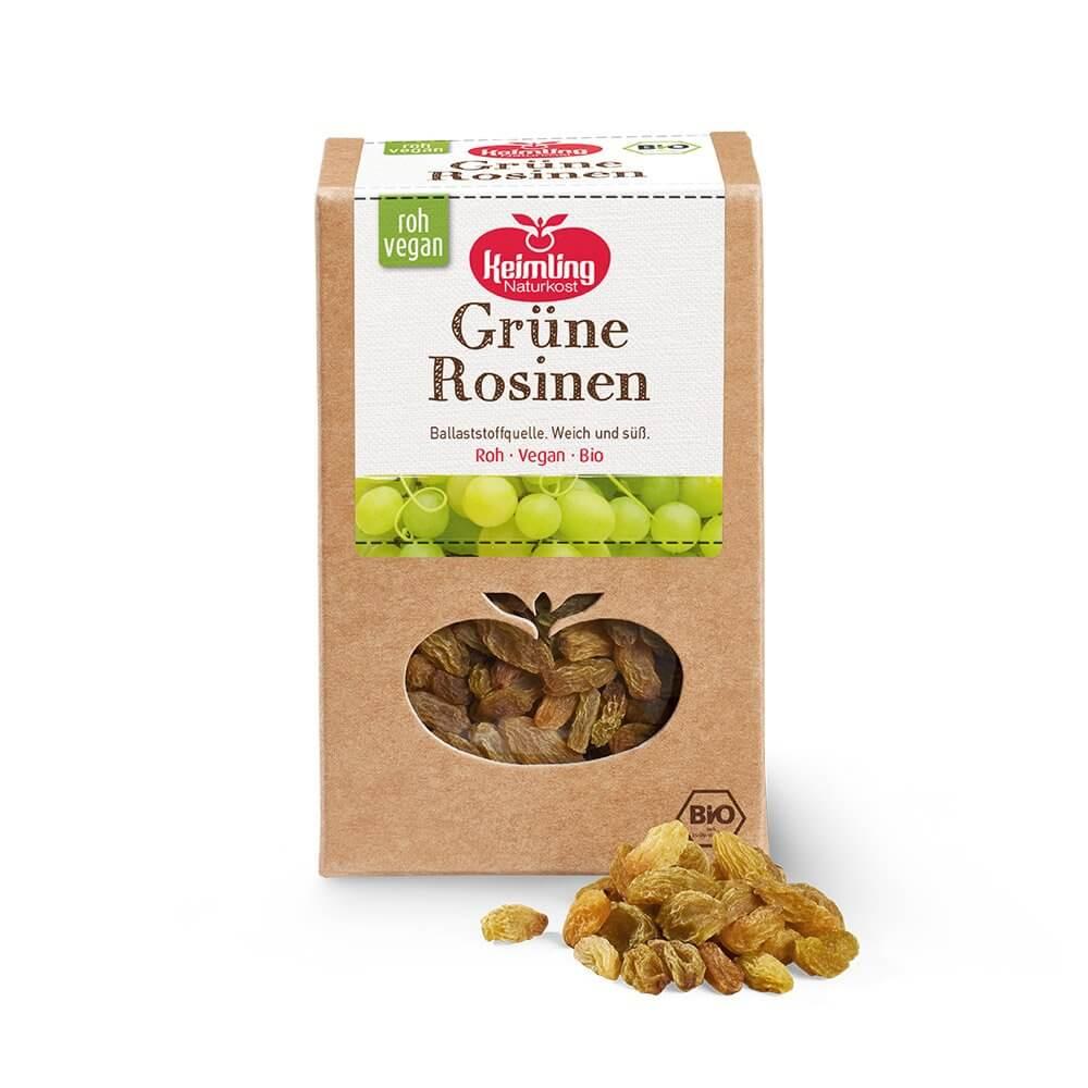 Grüne Rosinen bio 200 g