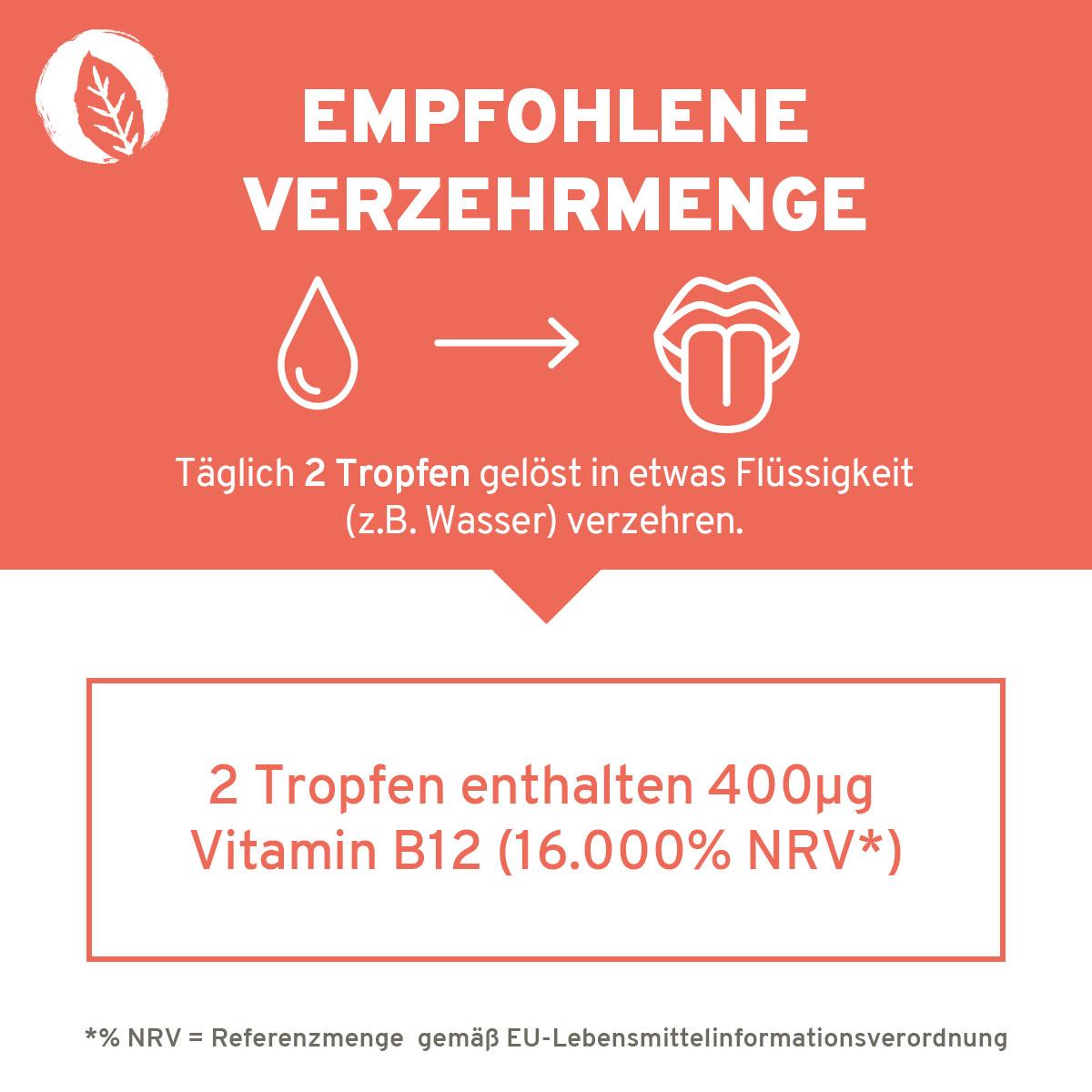 Innonature Vitamin B12 Tropfen, 50 ml