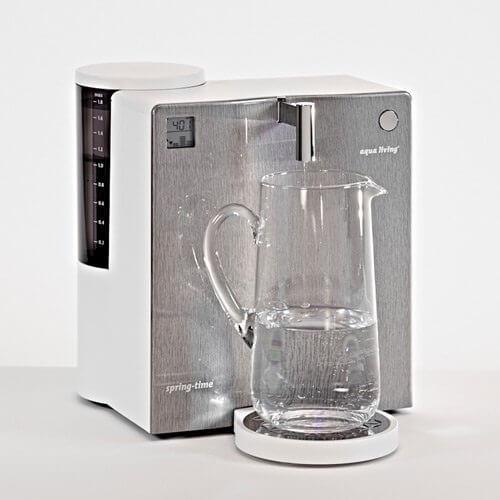 aqua living spring-time H2 premium Edelstahl Optik