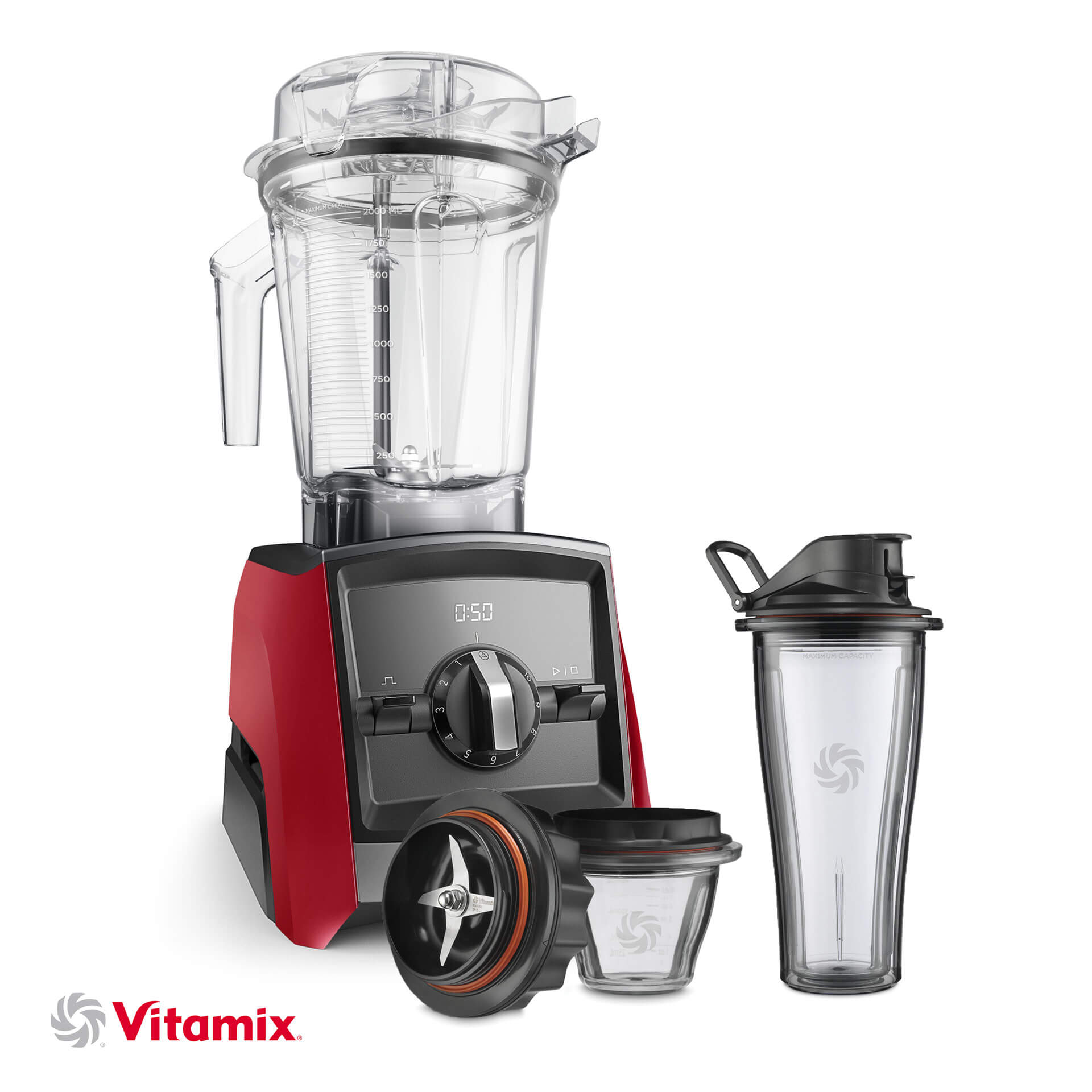 Vitamix A2300i rot Starter-Kit