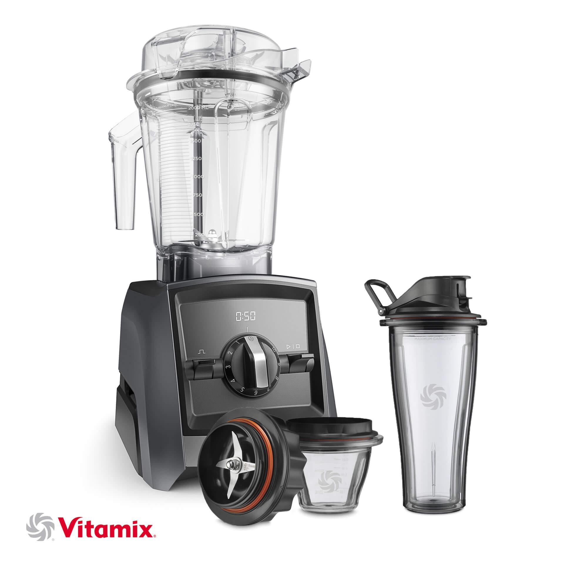 Vitamix A2300i silbergrau Starter-Kit