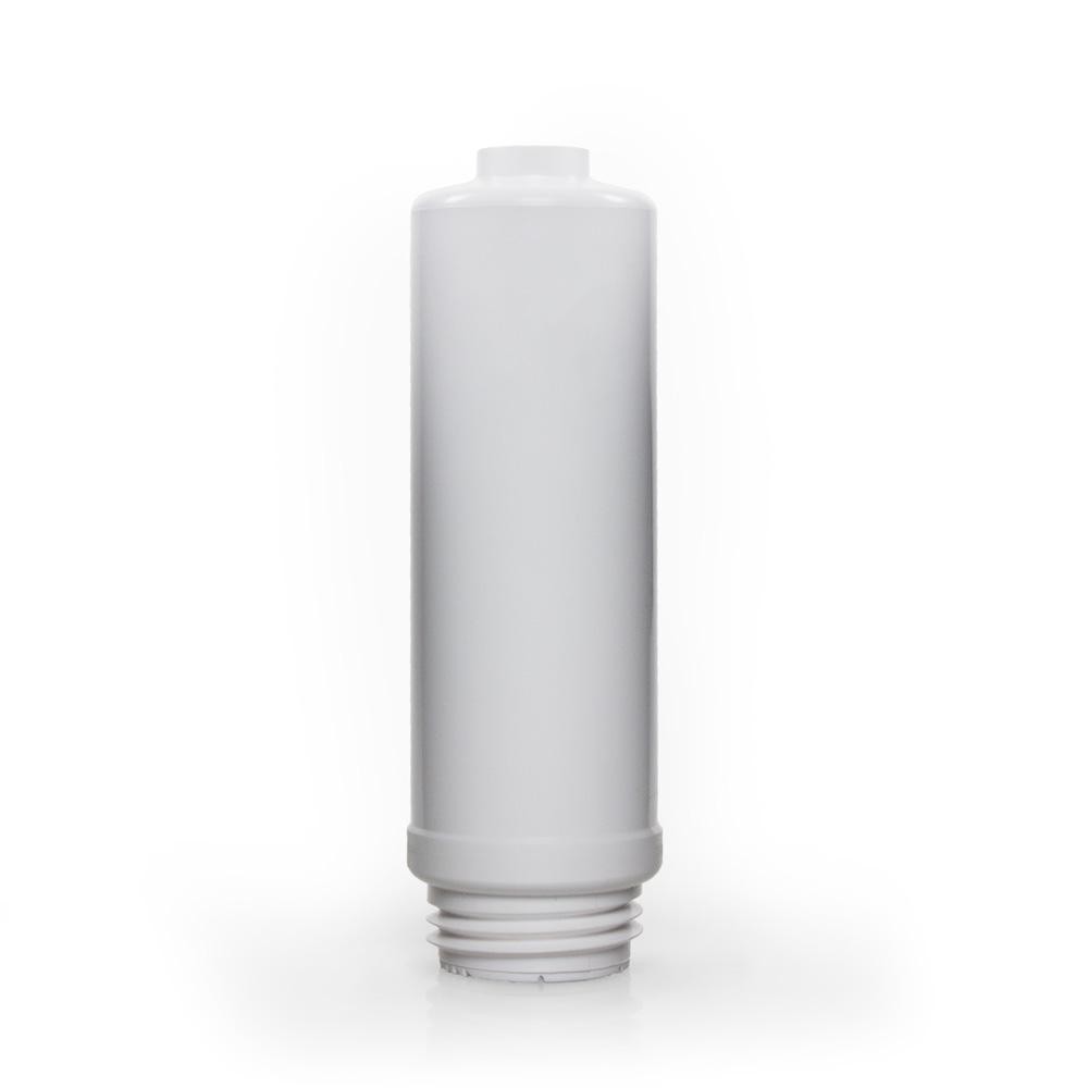 Original aqua living Standard Vorfilter mit weißem Punkt gekennzeichnet