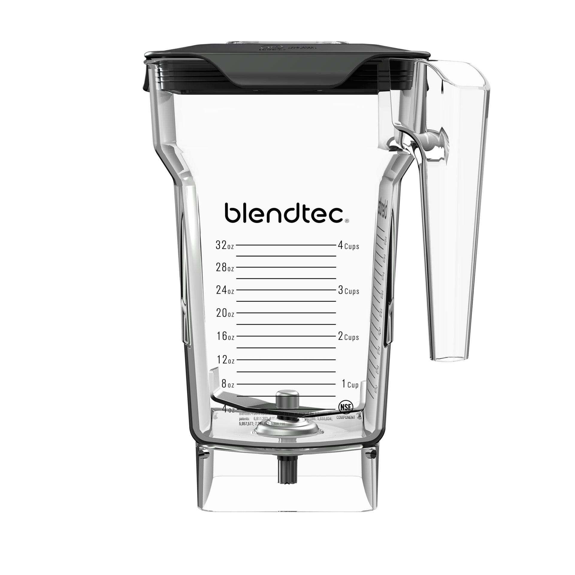 Blendtec FourSide 2-L-Mixbehaelter kompatibel mit allen Blendtec Modellen