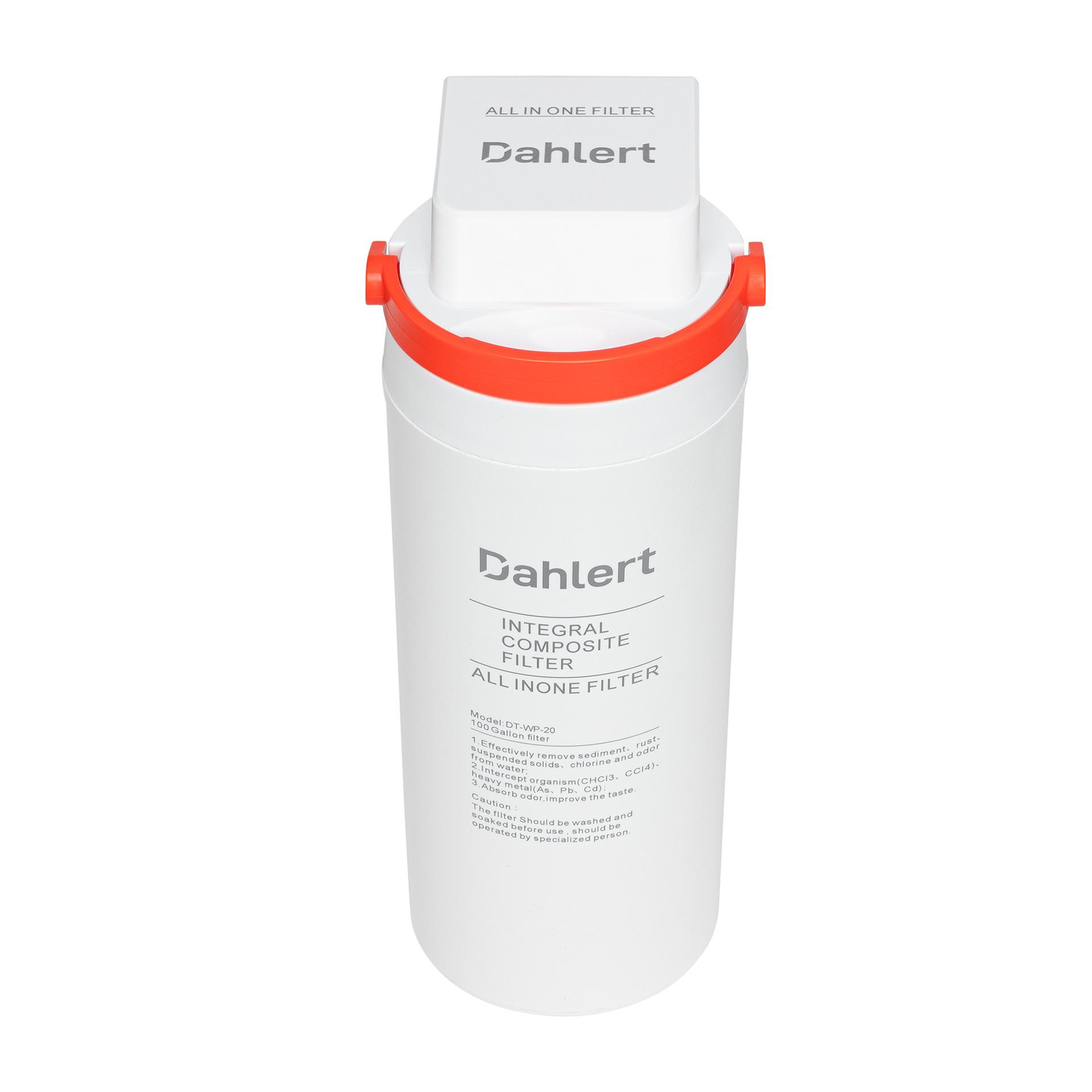 Dahlert DT-Wf-20 Ersatzkartusche für Wasserfilter
