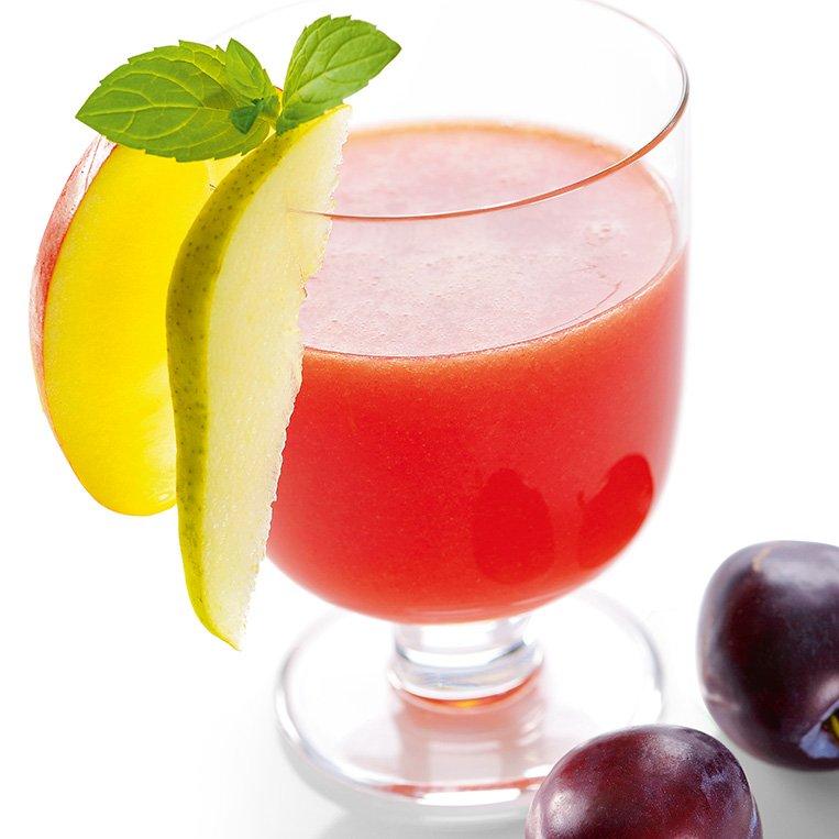 Erfrischende Obstsaefte mit dem Omega Juicers