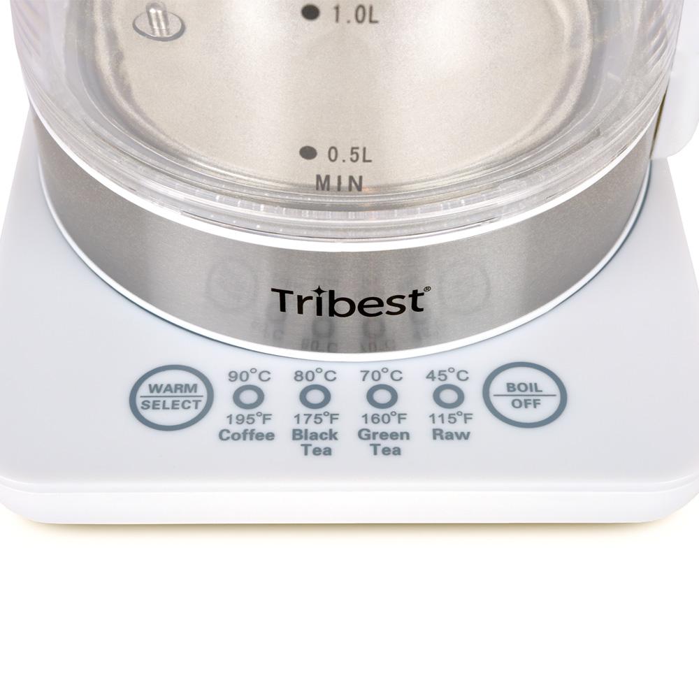 Tribest Wasserkocher GKD-450 Einstellungen