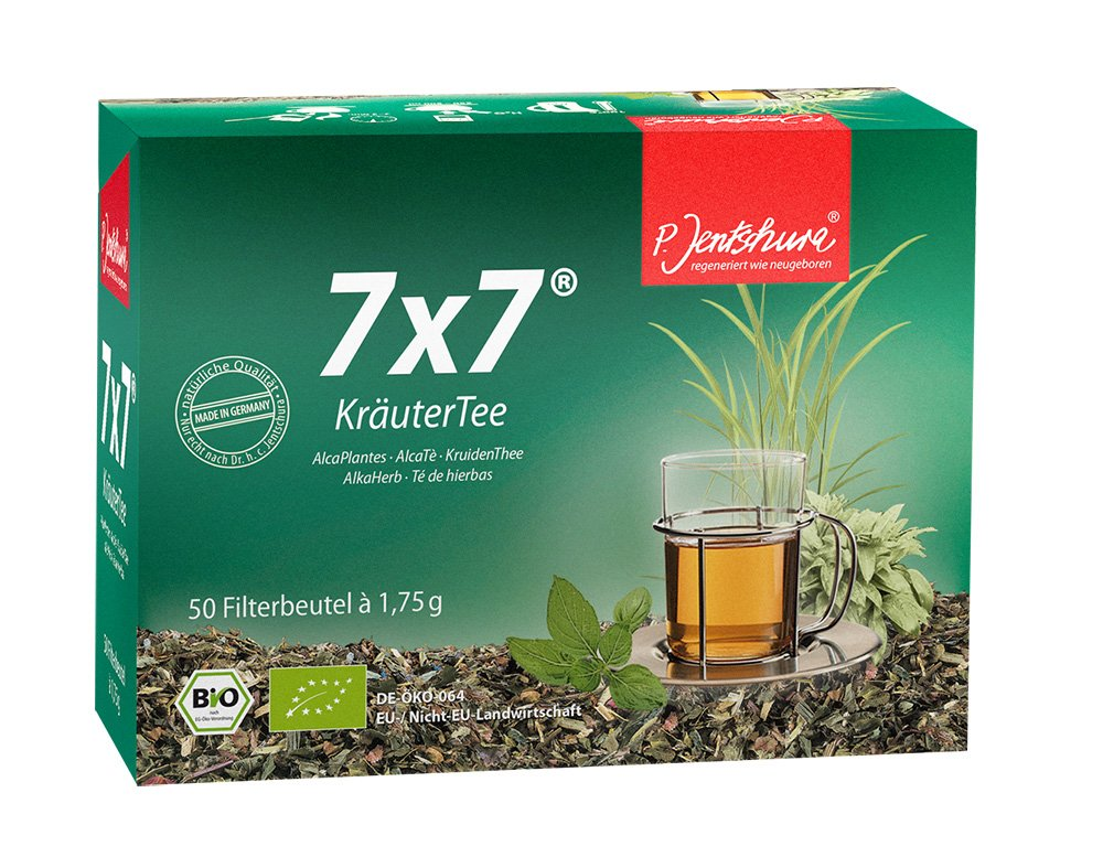 P. Jentschura 7x7 Kraeutertee im Beutel