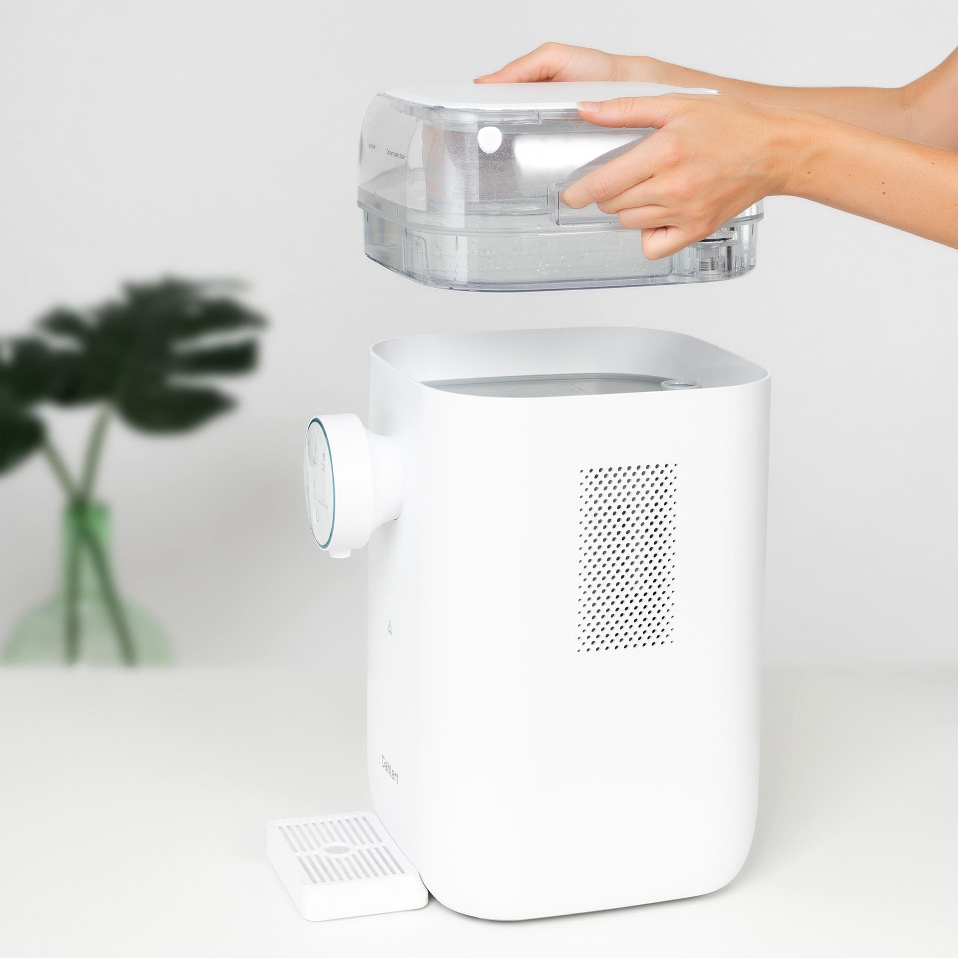 Dahlert Wasserfilter mit Wassertank für 3 Liter Ausgangswasser