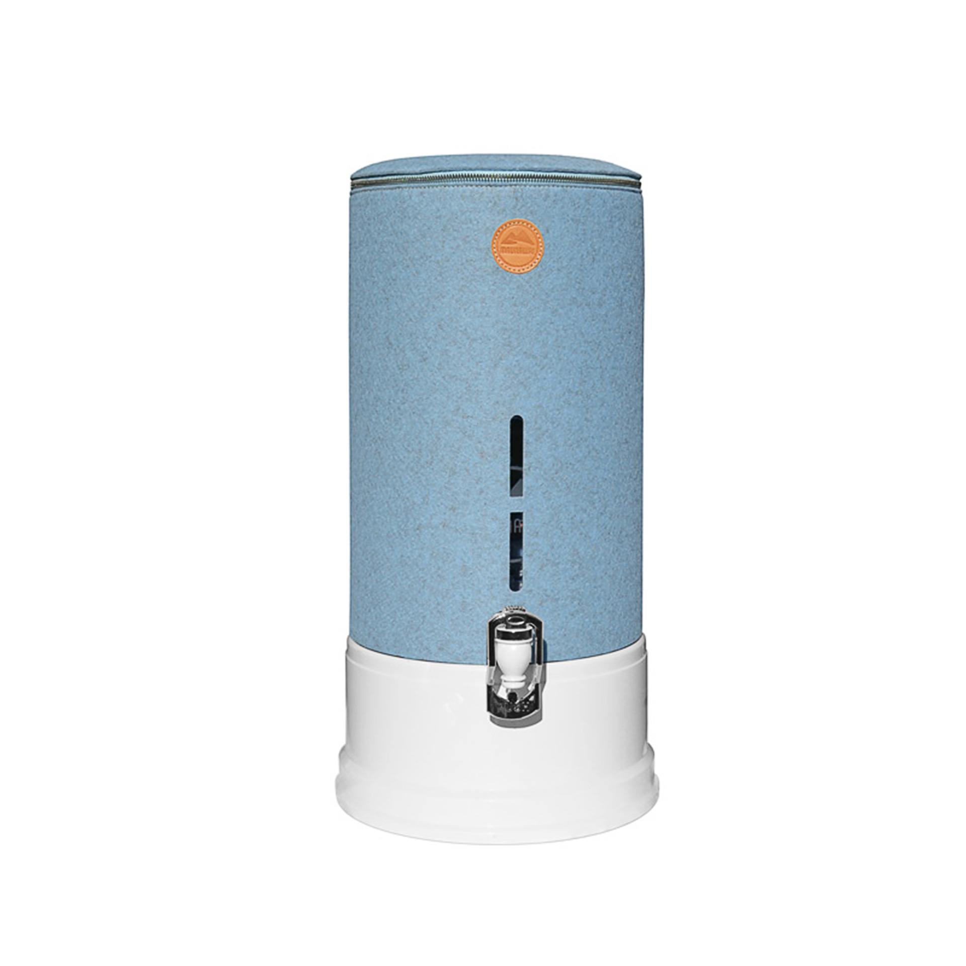 Maunawai PI PRIME Quelle Schutzhülle blau auf dem Wasserfilter - Hinweis: Maunawai Wasserfilter ist nicht im Preis enthalten